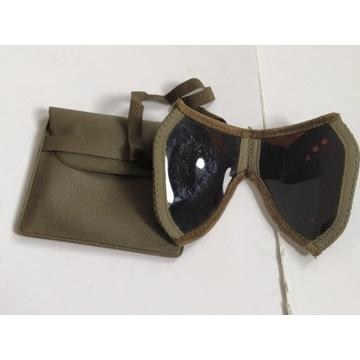 Okulary wojskowe kieszonkowe składane unikat