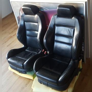 Fotele skorzane i kanapa RECARO Golf IV skora vw 4