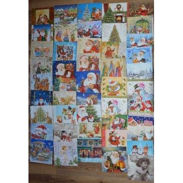 Zestaw serwetek Boże Narodzenie 91 szt