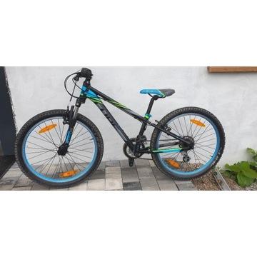 Rower Cube Kid 240 Black/Blue 2018  - Bielsko-B.