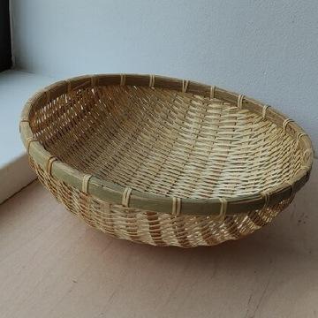 Koszyk bambusowy b.duży na owoce warzywa pieczywo
