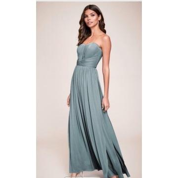 Suknia dla druhny suknia wieczorowa 32,44,46