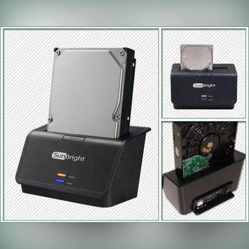 Stacja dokująca HDD Welland ME601J USB + eSATA 3Gb