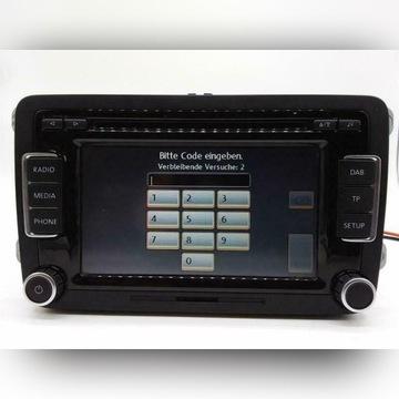 Radio CD Player VOLKSWAGEN GOLF MK6 2008 do 2013