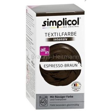 SIMPLICOL Farba Do Tkanin Brąz Espresso