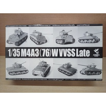 ASUKA Sherman M4A3 76w LATE (późny)