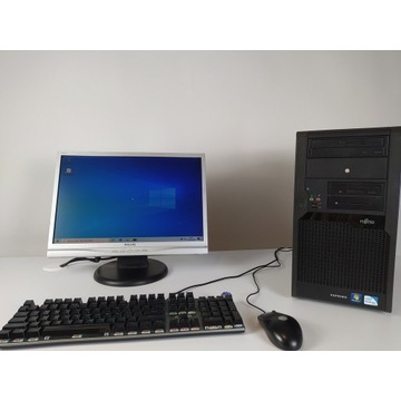 Komputer z Monitorem 5/8 GB RAM + mysz WINDOWS 10
