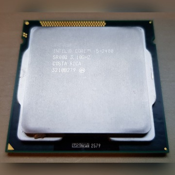 Intel Core i5-2400 3.1GHz 6MB cache