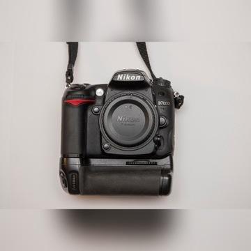 Nikon d7000 + oryginalny grip MB-D11 i dodatki.