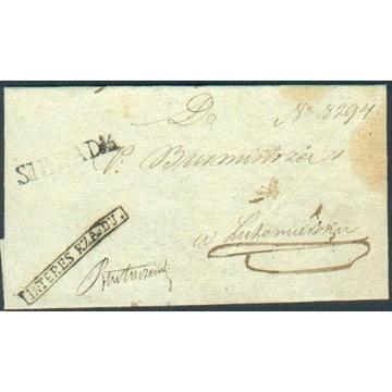 Królestwo Polskie - Sieradz - 1830 r. - Interes