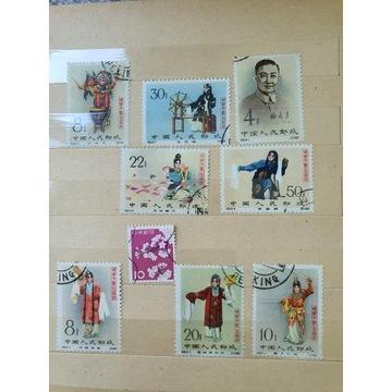 Znaczki pocztowe chińskie stare