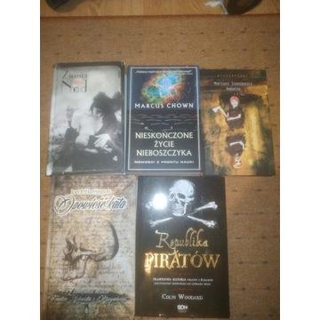 Zestaw 5 książek, Republika piratów, Opowieść kata