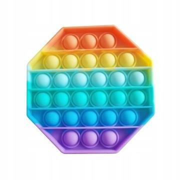 Push Bubble Pop It Zabawka Sensoryczna KWADRAT
