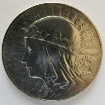 5 zł Polonia 1933 Ładna Srebro