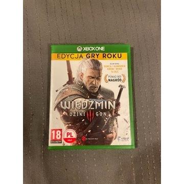 Wiedźmin 3 - Edycja Gry Roku Xbox One