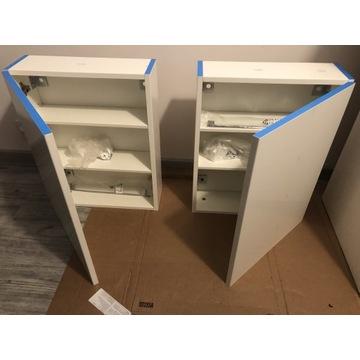 NOWE szafki łazienkowe -2 półsłupki, szafka lustro