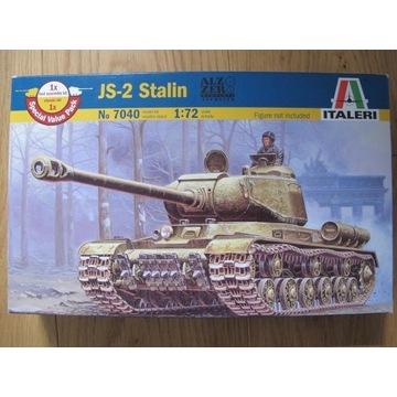 1/72 IS-2 Italeri - dwa modele bez kalek
