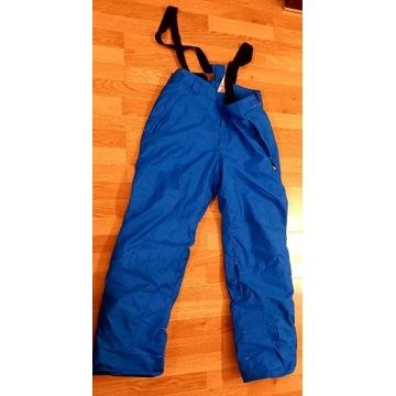 Spodnie narciarskie, snowbordowe niebieskie