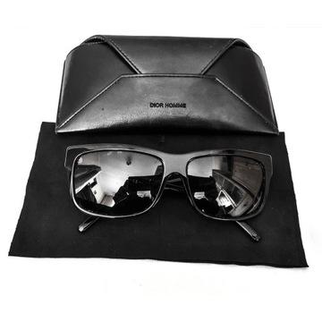 Okulary przeciwsłoneczne Dior Czarne.
