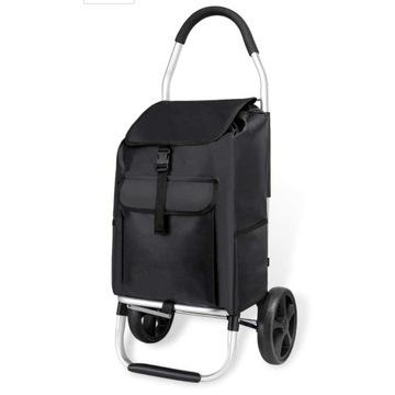 Wózek na zakupy aluminiowy ,torba na kółkach
