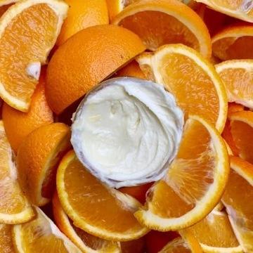 Pomarańczowe masło do ciała 100% naturalne