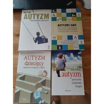 Autyzm - 4 książki - nowe