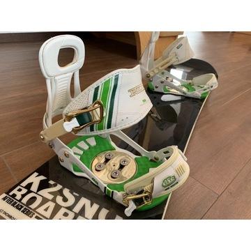 Wiązania snowboardowe RIDE DELTA 11-13 * Snowboard