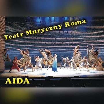 Teatr Roma -AIDA (9 STY czwartek 19:00) drugi rząd