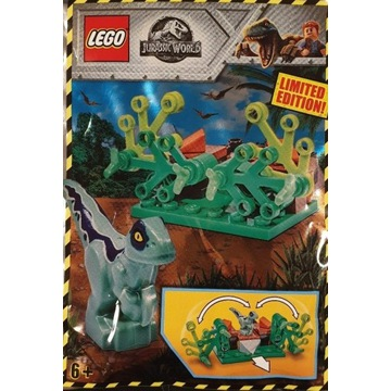LEGO JURASSIC WORLD MŁODY RAPTOR