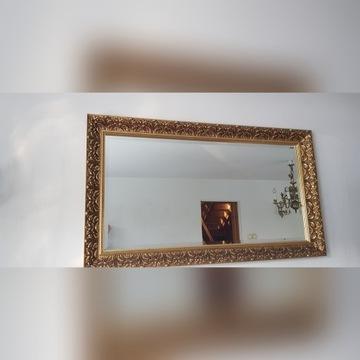 lustro w stylowej ramie 120/ 60 cm