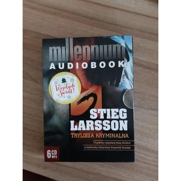 Audiobook Trylogia Millennium - Stieg Larsson