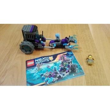 LEGO Nexo knights 70349,figurki i tarcze