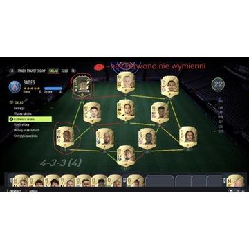 Konto fifa 22 pc (700k+ wiele graczy)