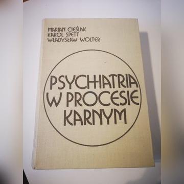 Psychiatria w procesie karnym 1977 Cieślak, Spett