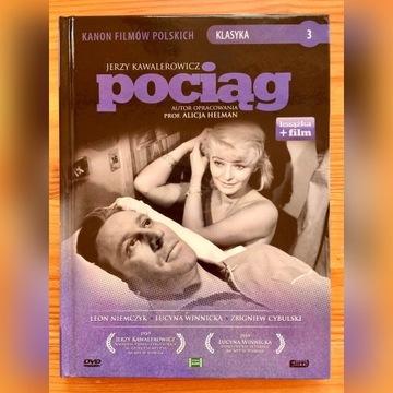 POCIĄG - Jerzy Kawalerowicz (KSIĄŻKA + DVD)