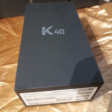 Telefon LG K40 NOWE