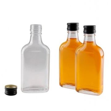 Butelka PIERSIÓWKA 200ml z zakrętką - Krosno