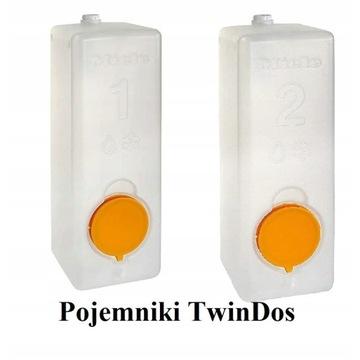 Pojemniki wielokrotnego użytku Miele TwinDos 2szt