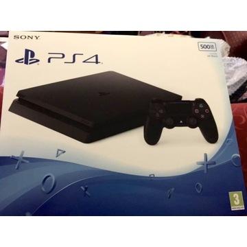 Sony PlayStation 4 slim 500 GB +pad
