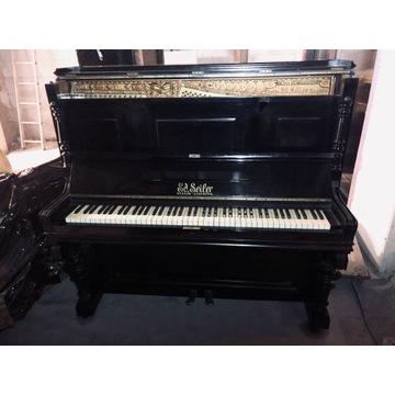 Pianino Ed.Seiler nr 25392 rok 1900 dolny tłumik