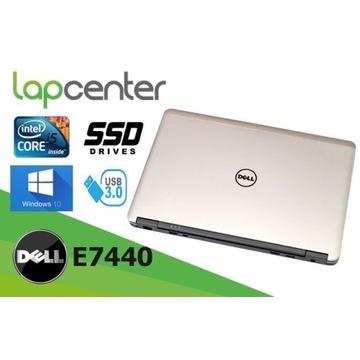 JAK NOWY DELL LATITUDE E7440 i5 8GB 256 SSD GW/FV