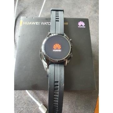 Huawei gt2 46mm czarny , stan SUPER, Gwarancja