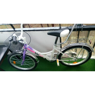 Rower dziecięcy Simple Bike 20' - stan dobry TANIO