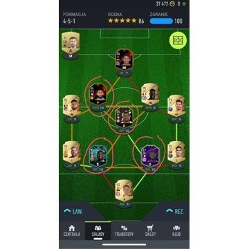 FIFA 22 PC - top squad 2,5 mln (ok 2 mln wymienne)