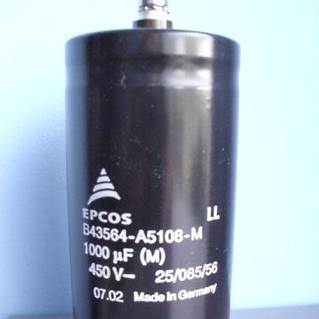 Kondensator elektrolityczny 1000uF 450V