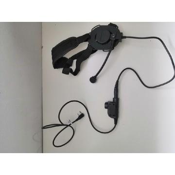 Zestaw słuchawkowy ASG - Słuchawka + Przycisk PTT