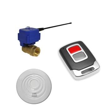 Radiowy zawór wody - zabezpieczenie przed zalaniem