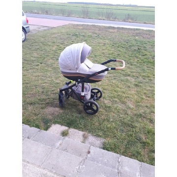 Wózek Adamex vicco 2w1 plus adaptery