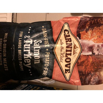 Carnilove Puppy Large Salmon&Turkey Sucha Karma dl