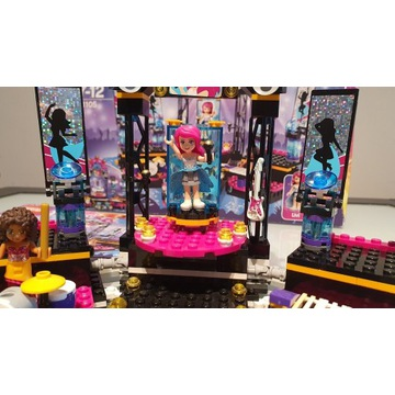 Lego friends scenario gwiazdy pop 41105